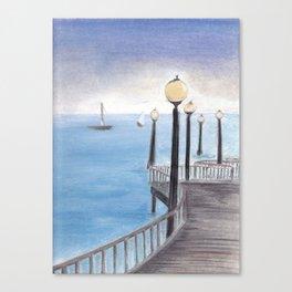 On the Horizon Canvas Print