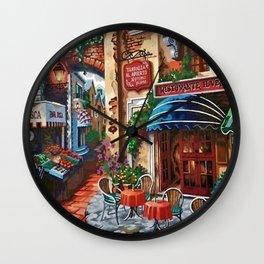 Italian Bistro Wall Clock