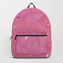 Pink Frosting with Sprinkles Backpack