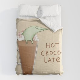 Hot Crocolate Comforters