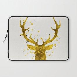 Gold Deer Laptop Sleeve