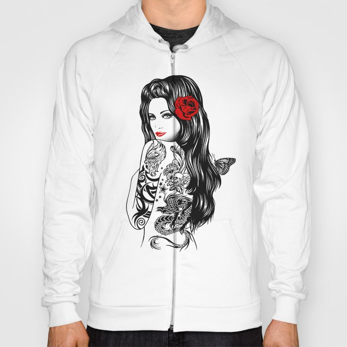 Tattoo Lolita Hoody