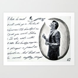 Part #2 -  The Best We've Done is Yet to Come Art Print