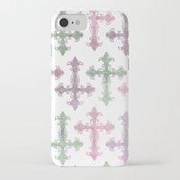 pastel goth iPhone & iPod Cases featuring Pastel Goth | Grunge by Glitterati Grunge
