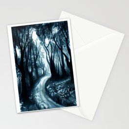 Blue Woods Stationery Cards