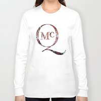 steve mcqueen Long Sleeve T-shirts featuring McQueen by TOM MONFORTI