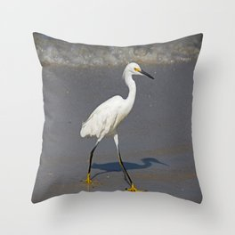 He Wore Yellow Shoes Throw Pillow