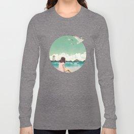 Calm ocean Long Sleeve T-shirt