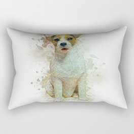 Jack Russell Rectangular Pillow