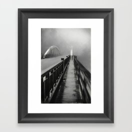 Wildwood Bridge Framed Art Print