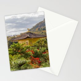Fall Colors and Gold Stationery Cards