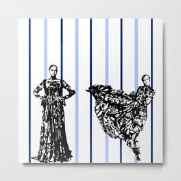 Gwendoline Christie 2 Metal Print