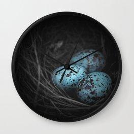 Nest of 3  Wall Clock