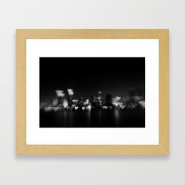 I heart San Diego ... Framed Art Print
