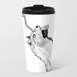 Wolf 2 with out name Travel Mug