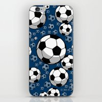 soccer iPhone & iPod Skins featuring Soccer by joanfriends