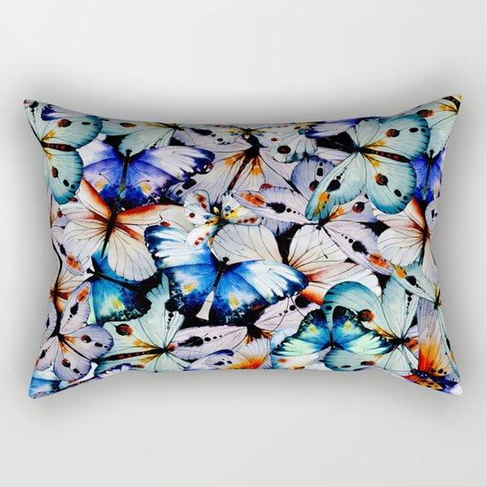 All of the Butterflies Rectangular Pillow