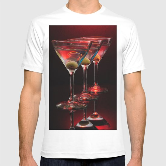 Red hot martinis. T-shirt