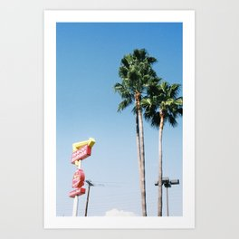 In and Out Art Print
