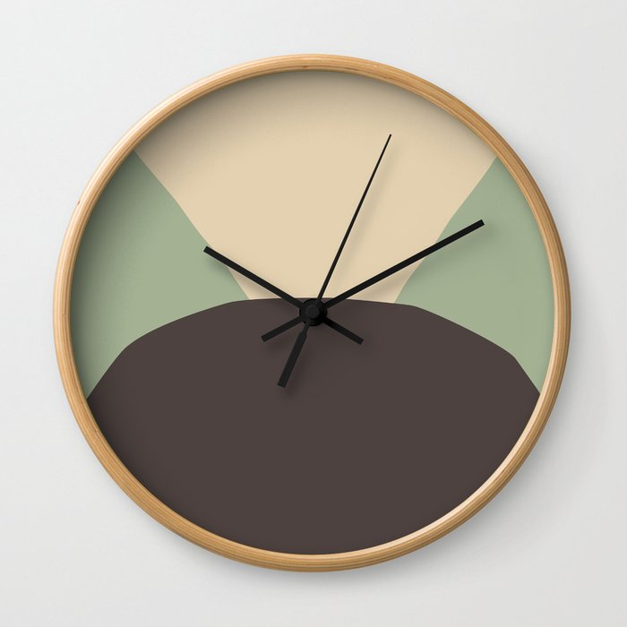 Deyoung Chocomint Wall Clock