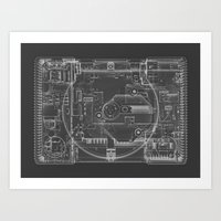 PlayStation One  Art Print