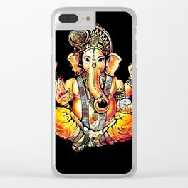 Ganesh Clear iPhone Case