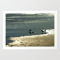 glitter Art Prints featuring Glitter by Chris' Landscape Images & Designs