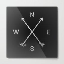 Compass Metal Print