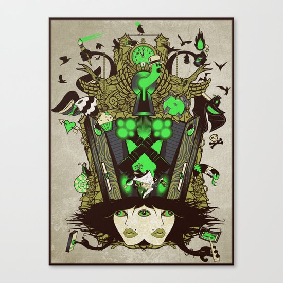 Molly Can't Make Up Her Mind 2.0 Canvas Print