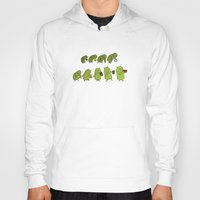 android Hoodies featuring Android Evolution by CromMorc