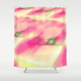 Cotton Candy Landscape Shower Curtain