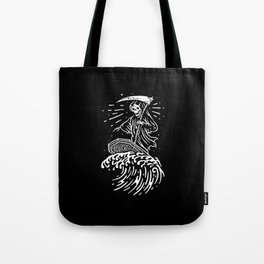 Grim Surfer Tote Bag