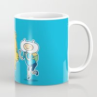katamari Mugs featuring Katamari Time! by MeleeNinja