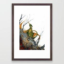 Quiet Place Framed Art Print