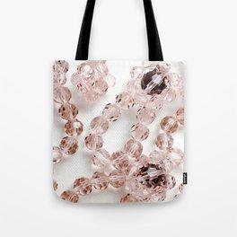 PLOOM - Lucky Pink Crystals in Bloom Tote Bag