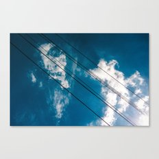 Lines in the sky Canvas Print