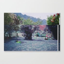 Two Toned Canvas Print