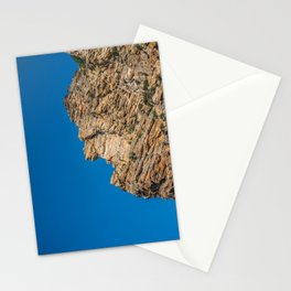 Rock Canyon Utah Outcropping Rock Formation Mountain Photography Stationery Cards