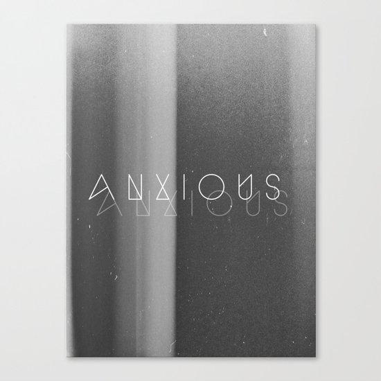 Anxious Canvas Print