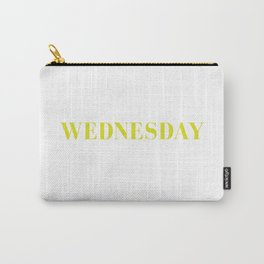 Tshirt Of The Week: Wednesday Carry-All Pouch
