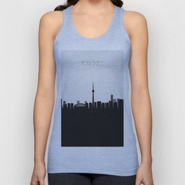 City Skylines: Toronto Unisex Tank Top