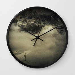 into the sandstorm Wall Clock