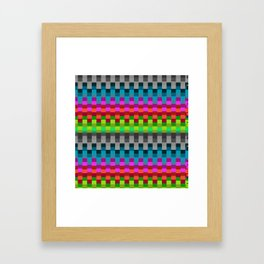 Stable Colour Framed Art Print