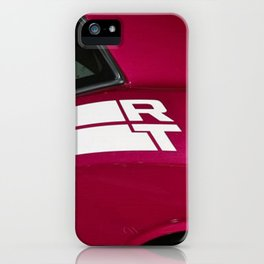 Fuchsia Panther Pink Challenger RT iPhone Case
