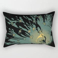 Zombie Shadows Rectangular Pillow