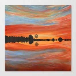 Gorgeous Sunset Canvas Print