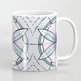 Morse Code Mandala Coffee Mug