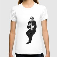 crowley T-shirts featuring Crowley by Mcnobody Studios