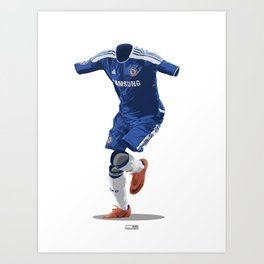 Chelsea 2011/12 - Champions League Winners Art Print