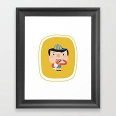 Ice Cream Please (Yellow Tales Series #2) Framed Art Print